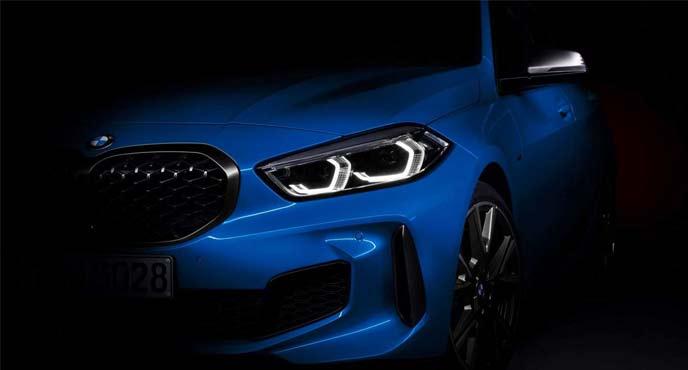 BMW次期1シリーズのティーザー画像