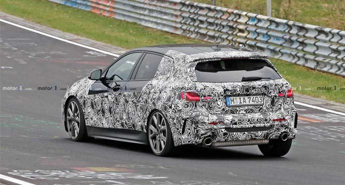 BMW1シリーズの最新プロトタイプ