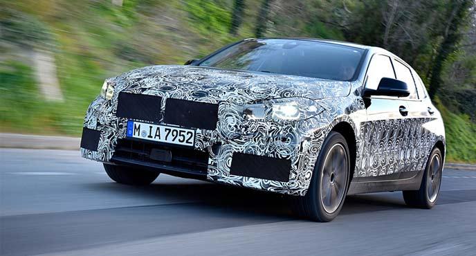 BMWが新型「1シリーズ」のプロトタイプ
