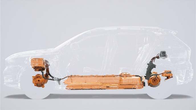 ボルボ初となる電気自動車 XC40 SUV