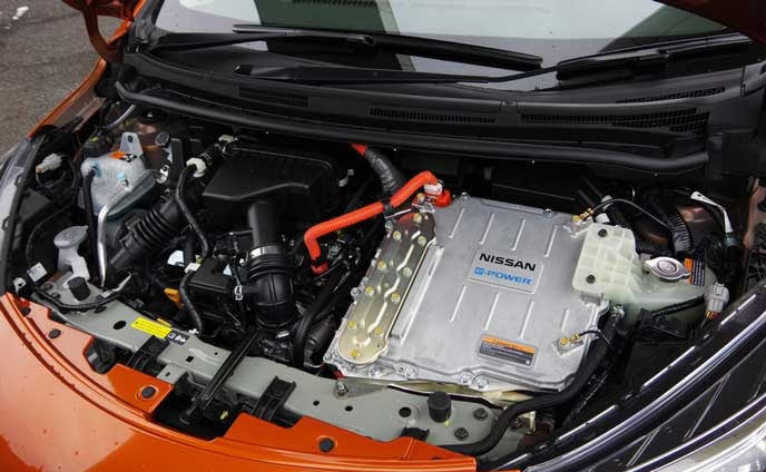 日産e-powerのエンジン