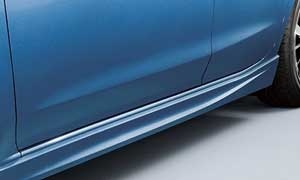 インプレッサスポーツ特別仕様車のサイドシル