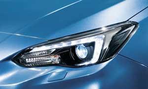 インプレッサスポーツ特別仕様車のヘッドライト