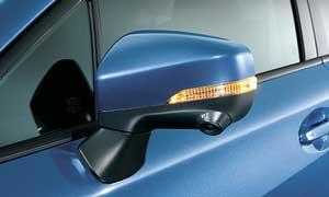 インプレッサスポーツ特別仕様車のドアミラー