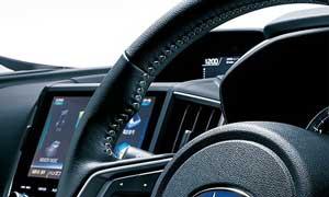 インプレッサスポーツ特別仕様車のステアリング