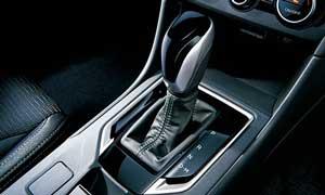 インプレッサスポーツ特別仕様車のシフトノブ