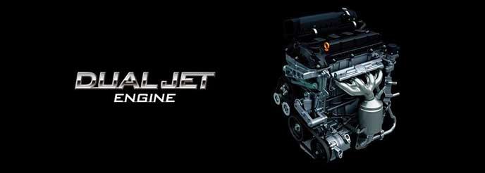 スズキ車に搭載されているデュアルジェットエンジン