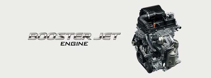 クロスビーのブースタージェットエンジン
