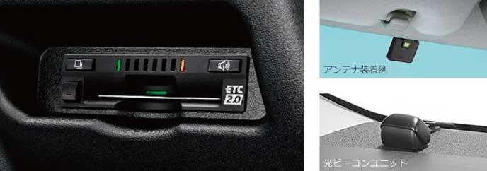 トヨタのETC2.0ユニット