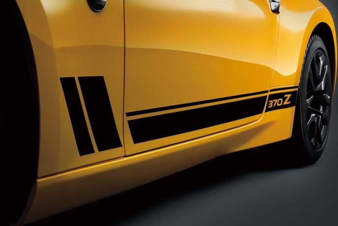 フェアレディZ ヘリテージエディションのサイドドア