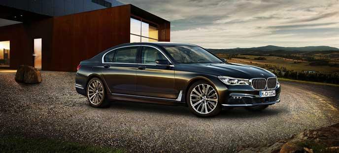 BMW 7シリーズのエクステリア