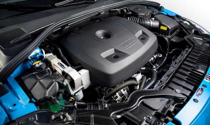 新型V60のエンジン