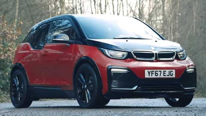BMW i3のエクステリア