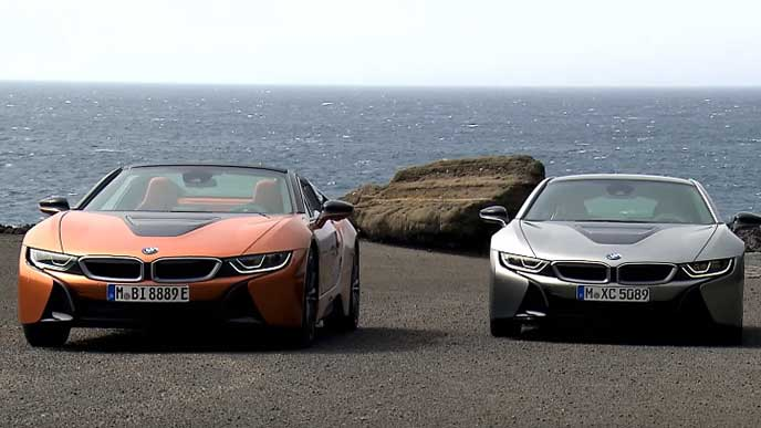 BMW i8ロードスターのエクステリア