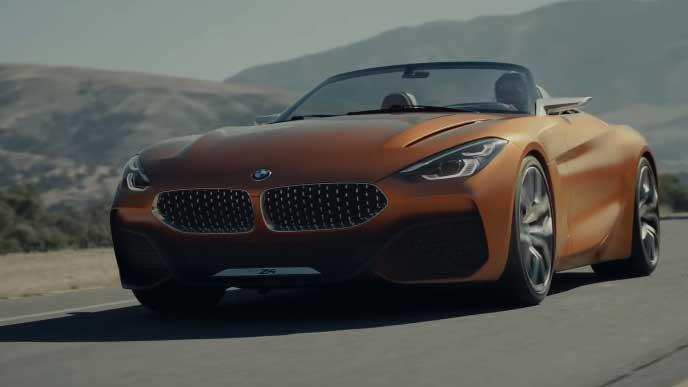 BMW Z4のエクステリア