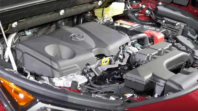 新型RAV4のエンジン