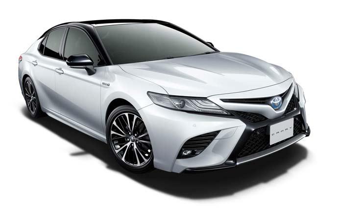 トヨタ 新型カムリのエクステリア
