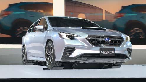 新型レヴォーグがフルモデルチェンジで高度運転支援技術と次世代安全装備を備える