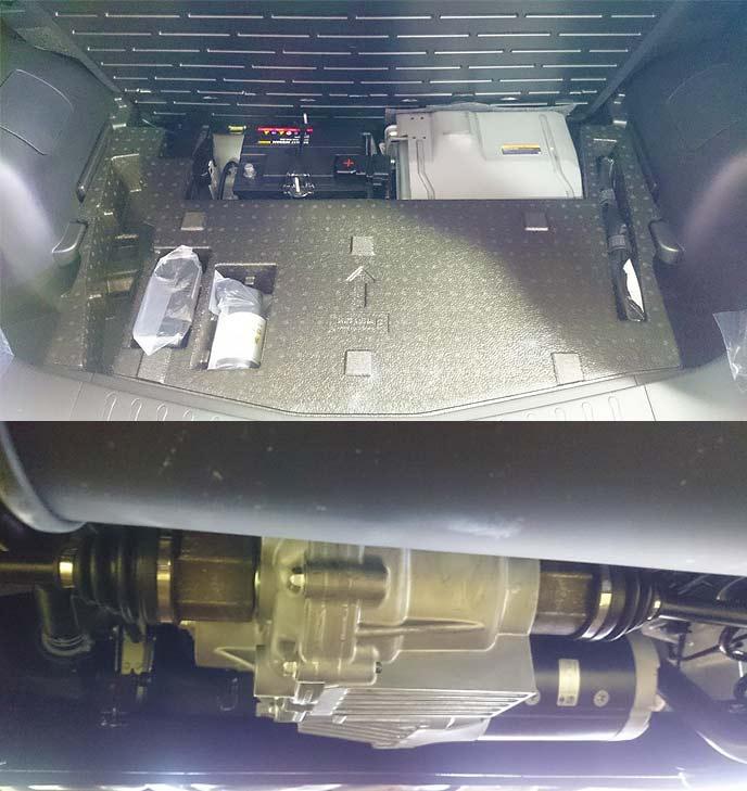 ノートe-POWERの高性能モーターとバッテリー