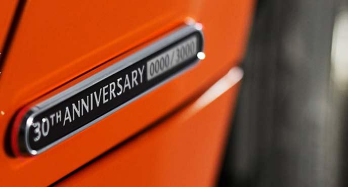 ロードスター30周年記念モデル「ロードスター30th ANNIVERSARY」