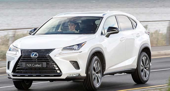 レクサス新型「NX」特別仕様車「Carfted Edition」
