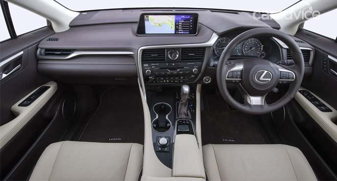レクサス新型「RX」特別仕様車「Carfted Edition」のインテリア