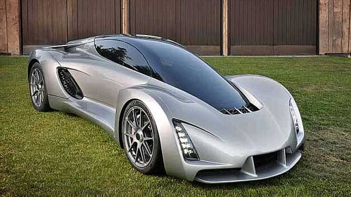 3Dプリンターで製作された700馬力のスポーツカー
