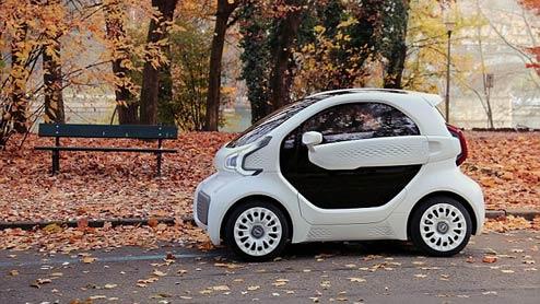 3Dプリンターの電気自動車が登場!製造は3日で約111万円で販売