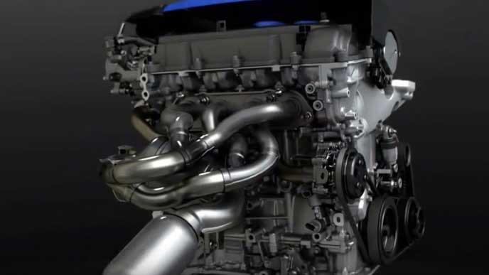 スカイアクティブGのエンジン