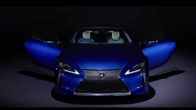LC特別仕様車Structural Blueのエクステリア