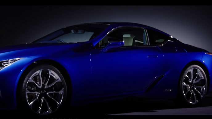 LC特別仕様車Structural Blueのホイール