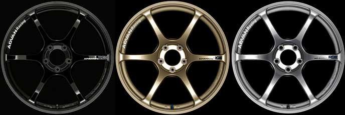 アドバンレーシングRG3のアルミホイール
