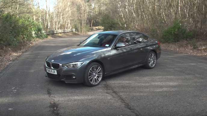 BMWのディーゼル車3シリーズ セダン