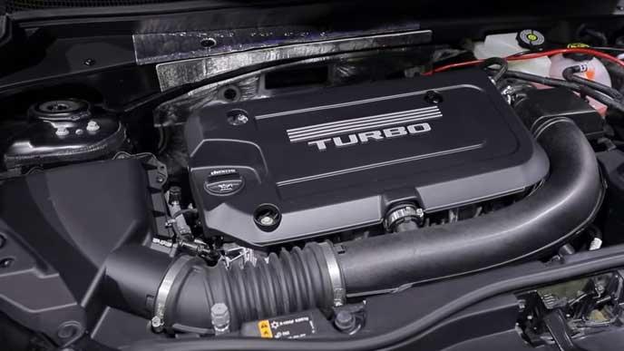 新型XT4の2.0Lエンジン