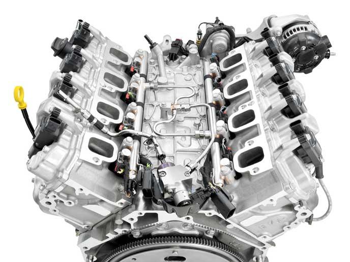 V型エンジンの参考画像