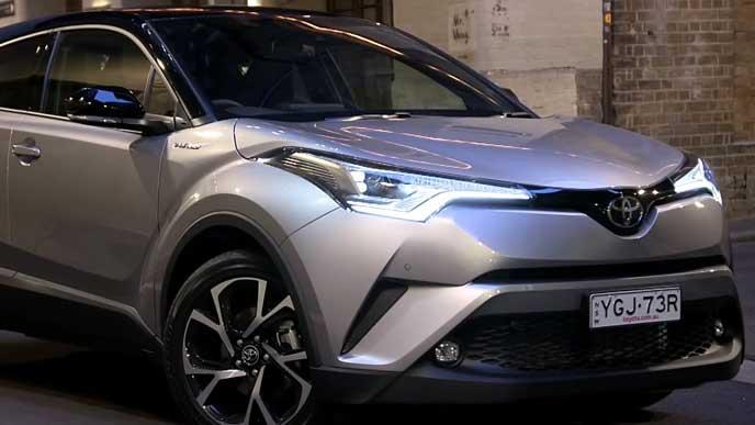 トヨタC-HRのエクステリア