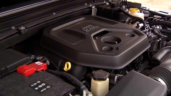 新型ラングラーの新開発2.0Lガソリンエンジン