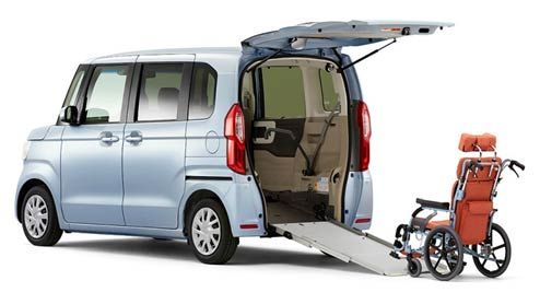 N‐BOXのスロープ仕様が発売~介護や日常・趣味でも役立つ車