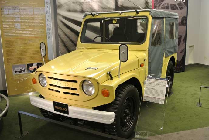 LJ10型ジムニーのエクステリア