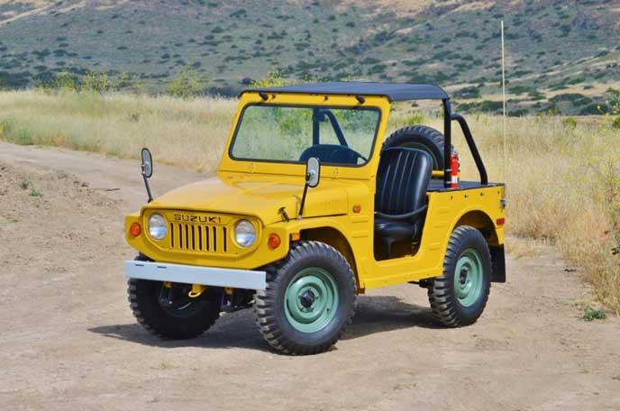 LJ20型のジムニー