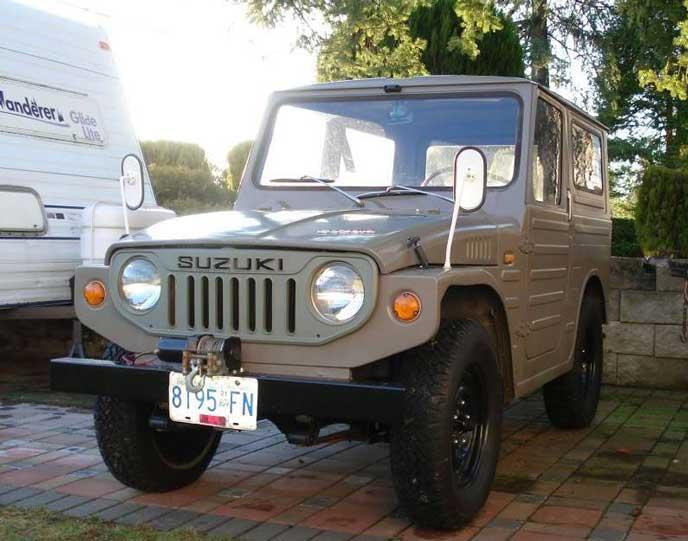 LJ20型ジムニーバン