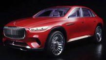 メルセデス・マイバッハの新型SUVが北京モーターショーに出展