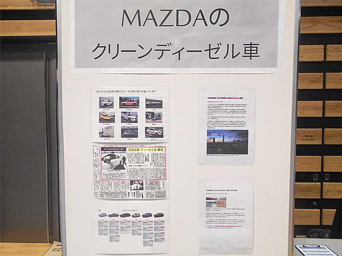 MAZDAのクリーンディーゼル車
