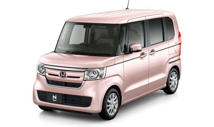 ピーチブロッサム・パールの新型N-BOXスロープ仕様車