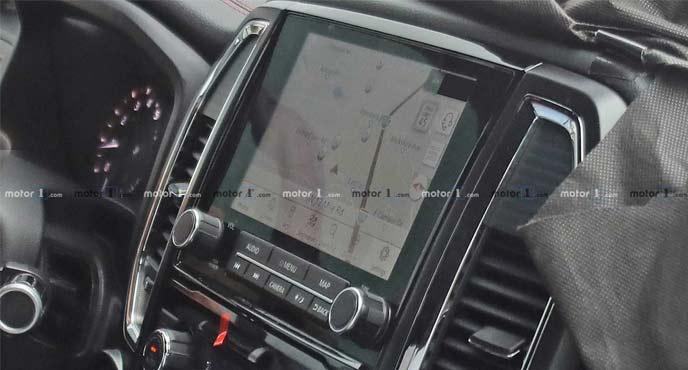 日産のフルサイズピックアップトラック 新型「タイタン」のインテリア