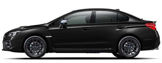 クリスタルブラック・シリカのWRX S4