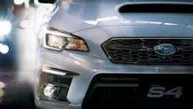 WRX S4が年次改良でE型となりプリクラッシュブレーキが強化
