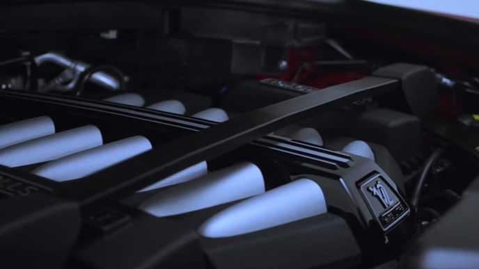新型カリナンのターボエンジン
