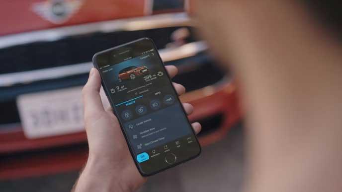 新型ミニのMINI Connectedアプリ