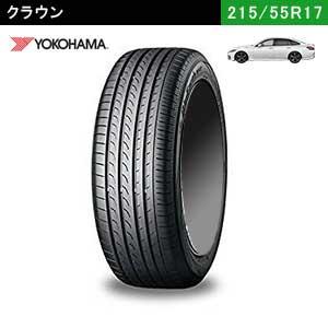 新型クラウンにおすすめのYOKOHAMA BluEarth-A 215/55R17 94Wのタイヤ